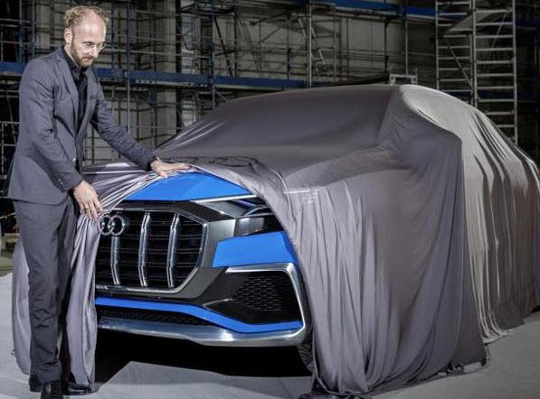 Audi Q8 E-Tron Concept ว่าที่รถใหม่ป้ายแดง