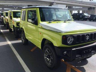 Spyshot ! Suzuki Jimny & JimnySierra ก่อนเปิดตัว