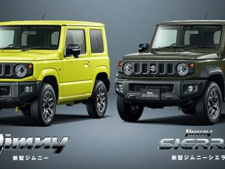 Suzuki Jimny ภาพเต็มชุดใหญ่