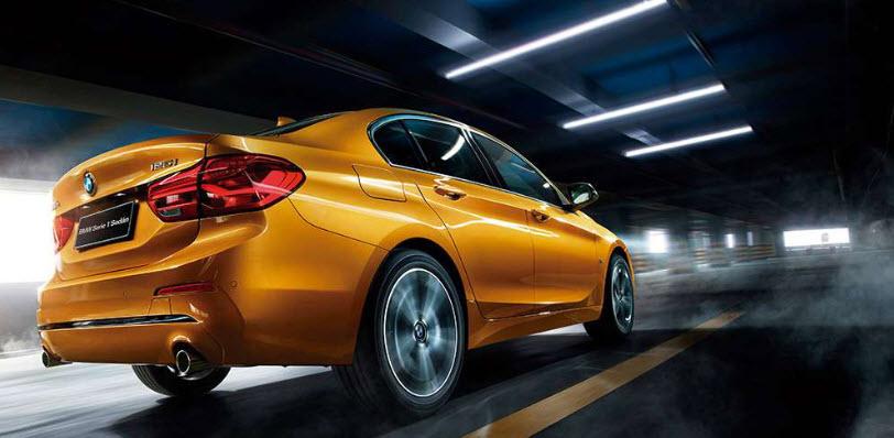 BMW 1 Series Sedan 2019