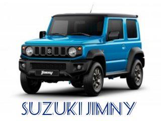Suzuki Jimny รุ่นใหม่ กับรายละเอียดเพิ่มเติม