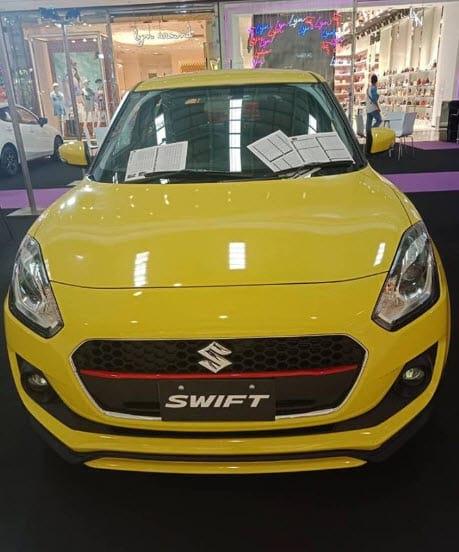 Suzuki Swift gl ออกรุ่นนี้