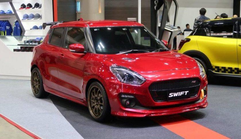 Suzuki swift 2018ล้อแม็ก CE 28 4/100