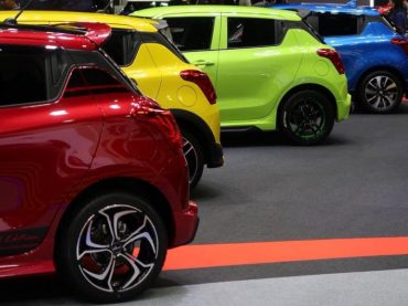Suzuki swift 2018 ล้อแม็กแต่ง