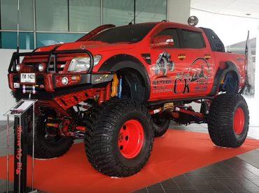 Ford Ranger วางคาน VX80