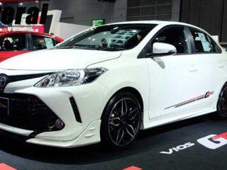 2018 Toyota Vios 1.5 GT STREET CVT ราคา755,000 บาท รถใหม่100คันเท่านั้น