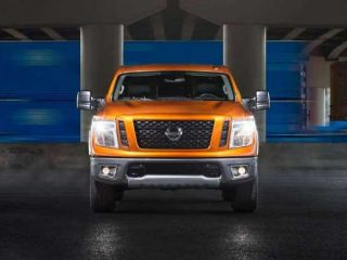 2019 Nissan Titan เครื่องยนต์ V8 และเทคโนโลยีอัพเดทใหม่ล่าสุด