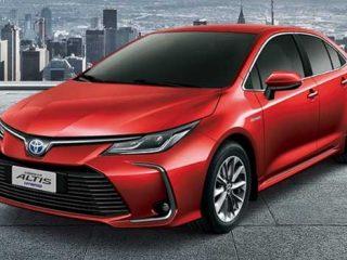 เปิดตัว All-new Toyota Corolla Altis รุ่น Hybrid แค่ 8 แสนก็เป็นเจ้าของได้