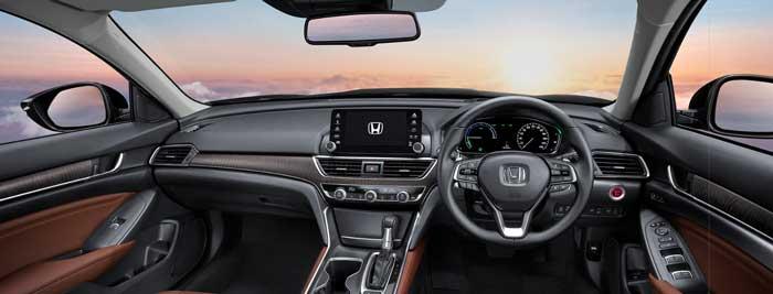 ภายในห้องโดยสารAll-new Honda Accord TURBO EL1.5