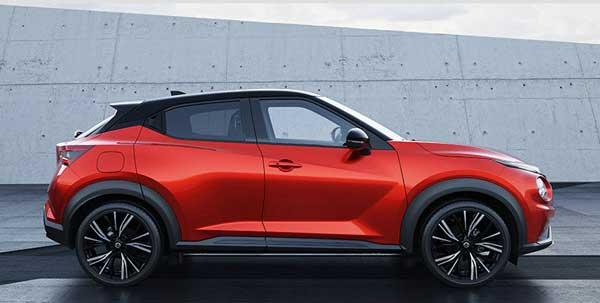 Nissan-JUKE 2019มีสีตัวถังภายนอก มีให้เลือกถึง 11 สี