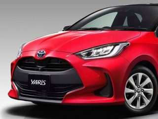 *2020 Toyota Yaris Spyshot