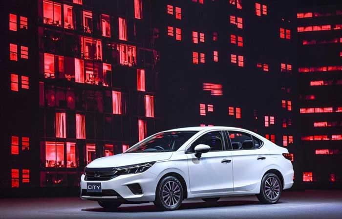 Honda City 2020 มีให้เลือกทั้งหมด 6 สี