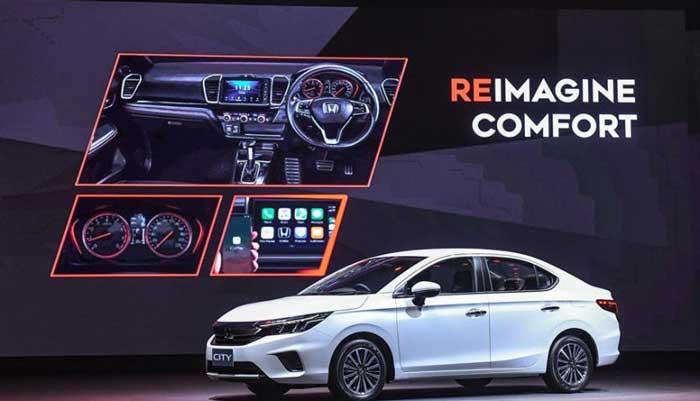 Honda City 2020 ออฟชั่นห้องคนขับ
