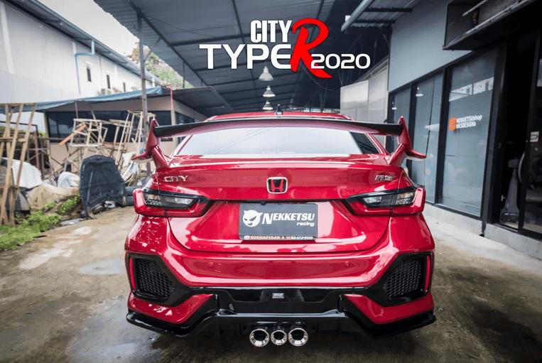 All New Honda City Type R โดย NKSDesign