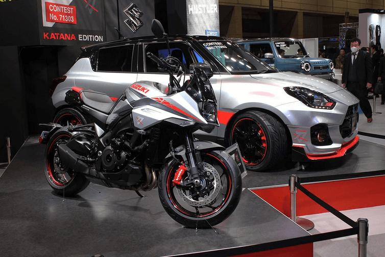 Swift Sport KATANA Edition รุ่นตกแต่งพิเศษในงาน Tokyo Auto Salon